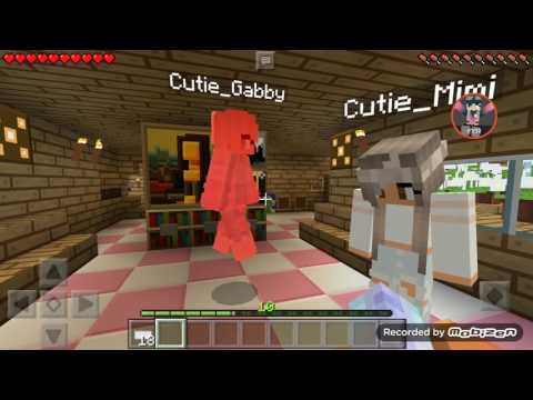 NIKKI MINECRAFT:Sleep Over /w Mimi & gabby 💖