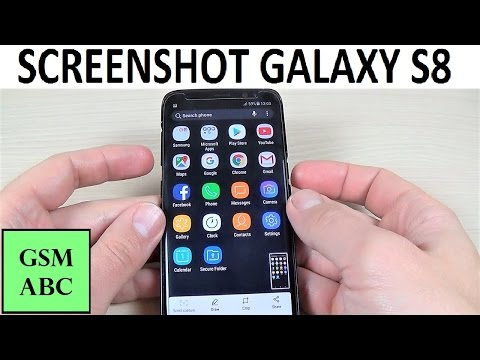 TAKE A SCREENSHOT with Samsung Galaxy S8, S8+ and NOTE 8 | How to