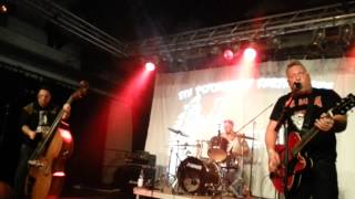 Evil Daltons-Your blood in my face- Live at the 5th Psychobilly Earthquake 2014