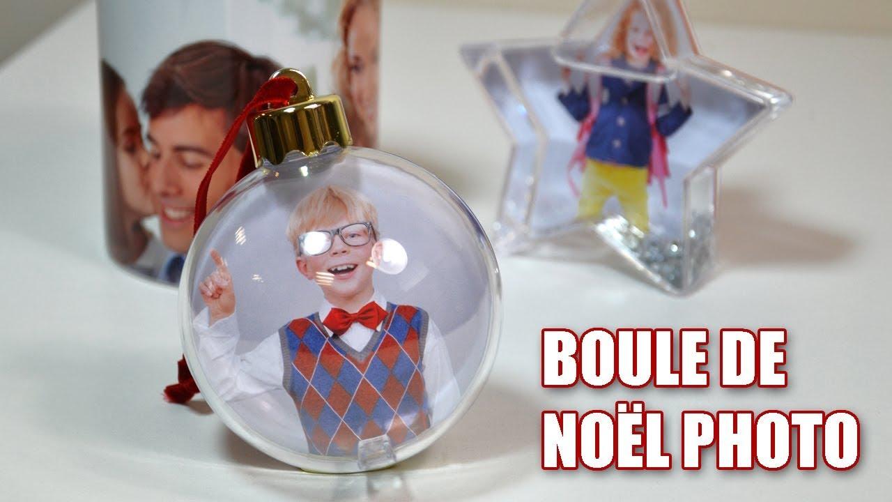 Personnaliser Une Boule De Noel Transparente boule de noël avec personnalisation photo