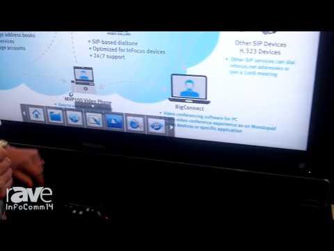 InfoComm 2014: InFocus Demonstrates Mondopad Complimentary Video Services