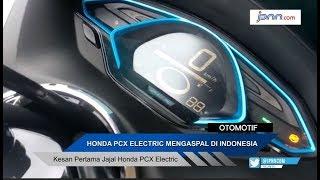 Kesan Pertama Jajal Honda PCX Electric