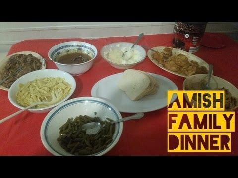 Amish Family Dinner