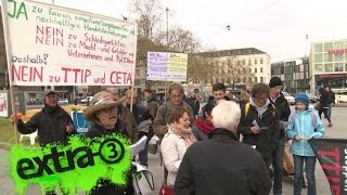 Christian Ehring zu den Protesten gegen TTIP