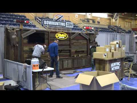 Harrisburg, PA Great American Outdoor Show Bowhunting.com Booth #918 Timelapse Video