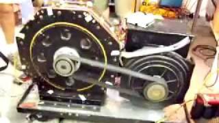Magnetic motor driving electric generator