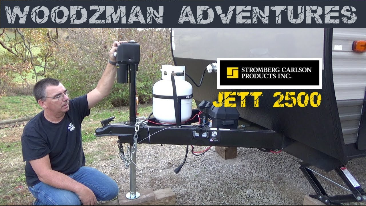 2500 Lb Stromberg Carlson Electric Tongue Jack Install Forest River Wiring Wolf Pup Travel Trailer Rv