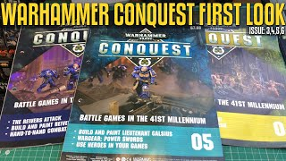 Warhammer 40,000 Conquest: Issue 3,4,5,6 First Look!