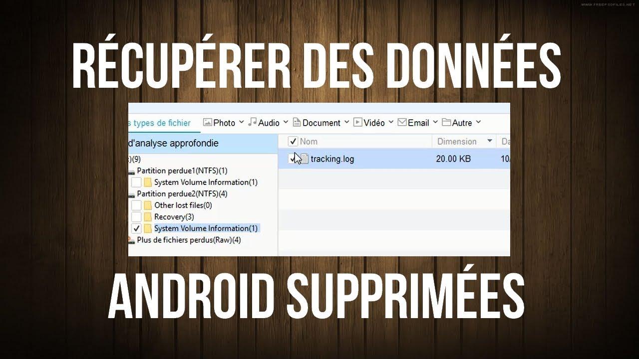 Récupérer Des Données Android Supprimées Par Erreur Sans Root