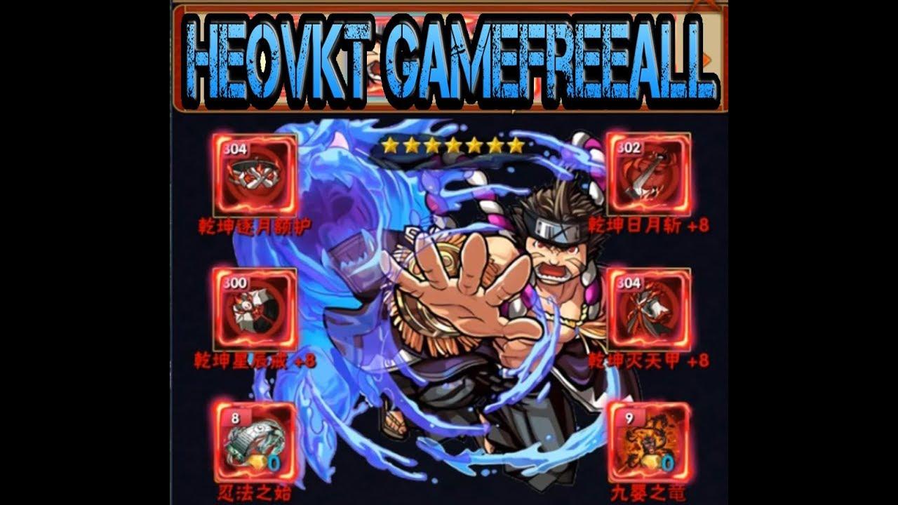 #GameFreeAll 31: Game Tân Naruto (Android & IOS) | Full Vip + KC Free Shop GM + Quà 7 Ngày [HeoVKT]