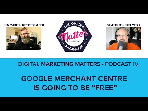 Sam And Ben Discuss Google's Announcement That Shopping Listings Will Be Free!