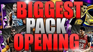 MY BIGGEST NBA 2K16 PACK OPENING OF THE YEAR