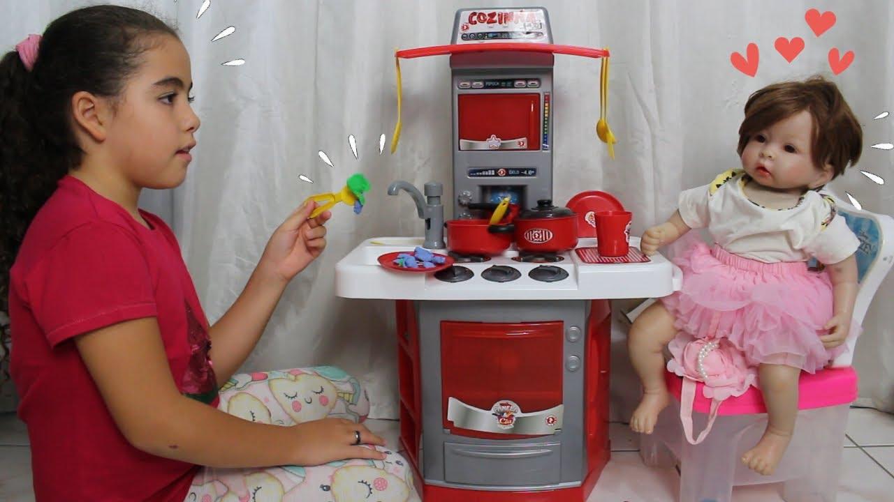 MEGA cozinha e fogãozinho de brinquedo