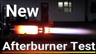 Jet Engine Afterburner Jet Engine Kart Turbojet Afterburner Testing
