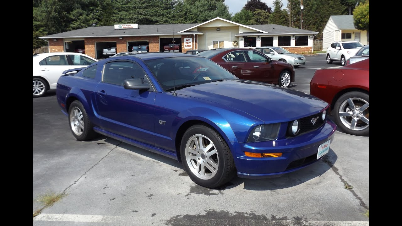 2005 ford mustang gt 5 speed 4 6l v8 start up and tour