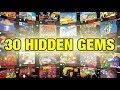 Nintendo SNES - 30 Hidden Gems in 5 Minutes