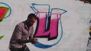 How to Draw a U | Graffiti