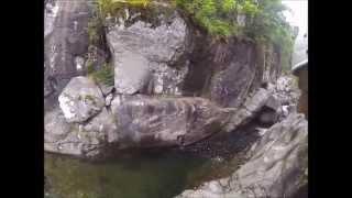 Canyon du Tapoul avec la Maison du plein air