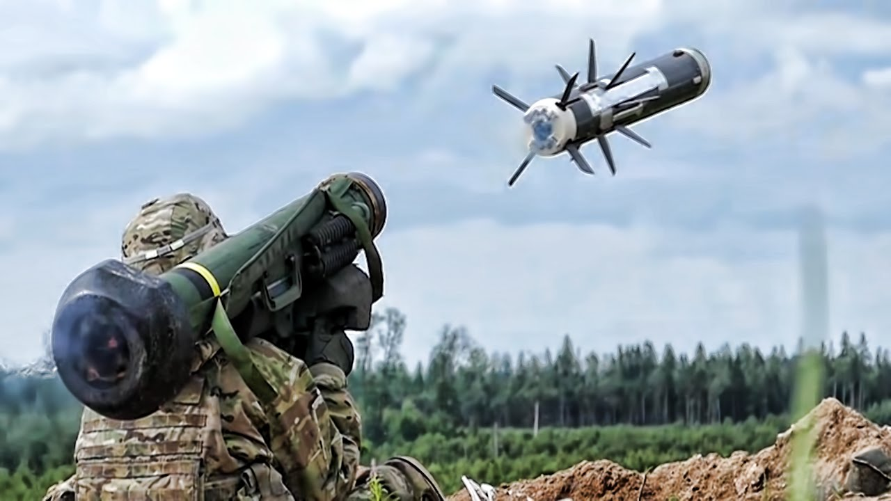The first public demonstration of Javelin anti-tank missile systems in Georgia 52