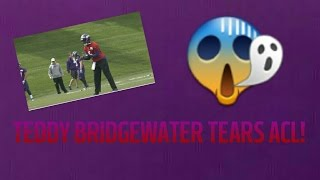 teddy bridgewater torn acl