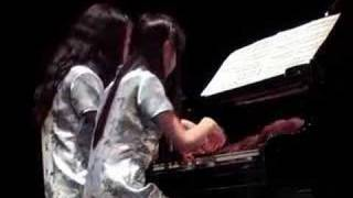 J.Brahms: Ungarischer Tanz Nr.2 d-Moll, duo piano, Lin Sha Li