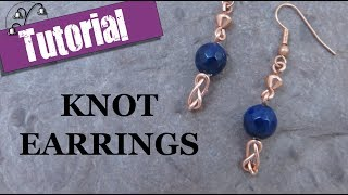 Quick Wire Earrings - Knot