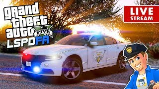 GTA 5 LSPDFR STATE PATROL Ohio State Highway Patrol | GTA 5 LSPDFR Realistic Police Patrol Mod