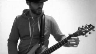 Fat Joe & AC/DC - Lean Back in Black - Live Guitar Cover - One Shot Impro by Menjesbi