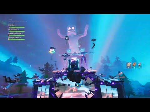 Fortnite Marshmello Concert Event! Craziest and Best Event In Fortnite History!!