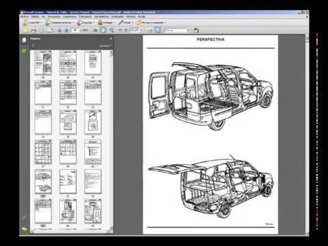 renault kangoo workshop manual pdf
