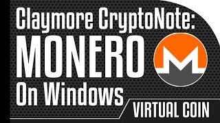 Monero -  Claymore CryptoNote CPU miner on Windows