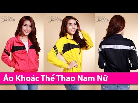 Áo Khoác Thể Thao Nam Nữ - Áo Khoác HCM Chuyên áo Khoác Thời Trang AoKhoacHCM.com