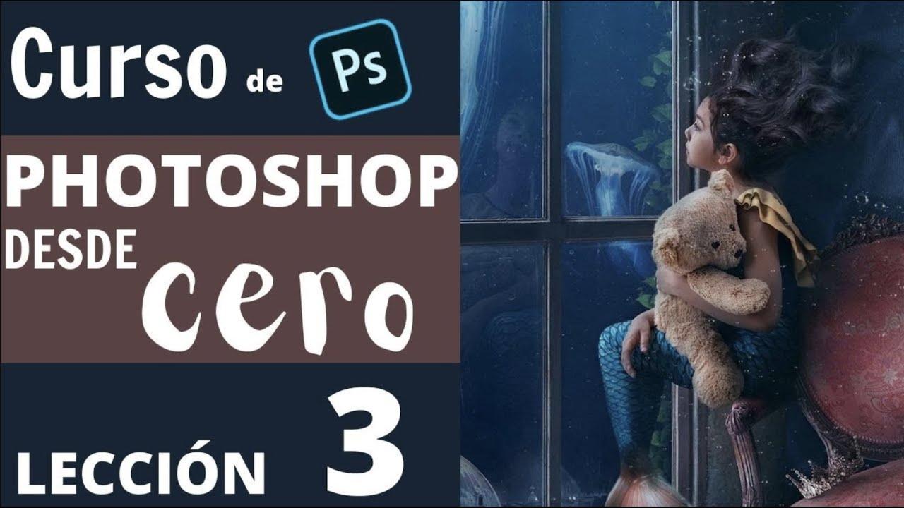 Curso de photoshop desde cero lección #3