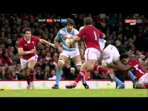 Juan Imhoff Great Try vs Wales 2012