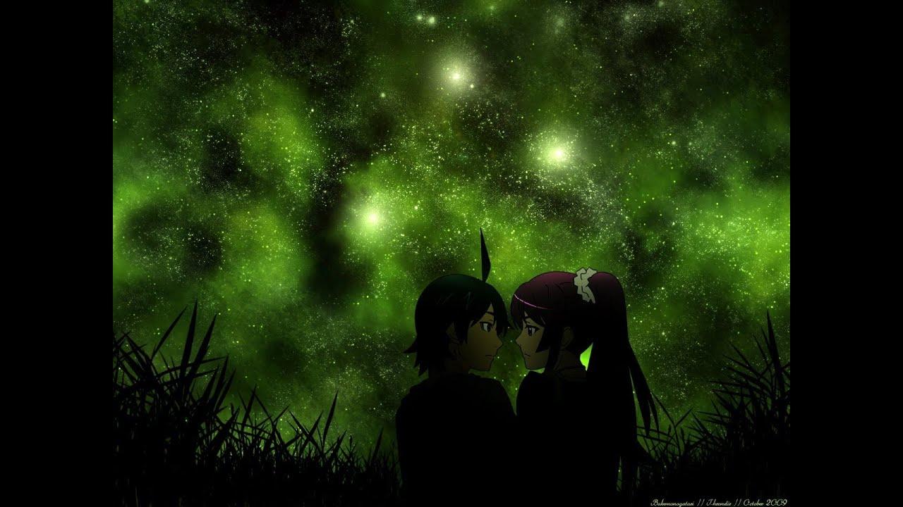 化物語満天の星空と付き合いたての阿良々木・戦場ヶ原