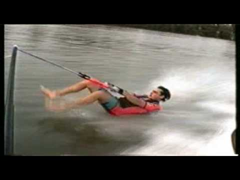 chute barefoot - YouTube