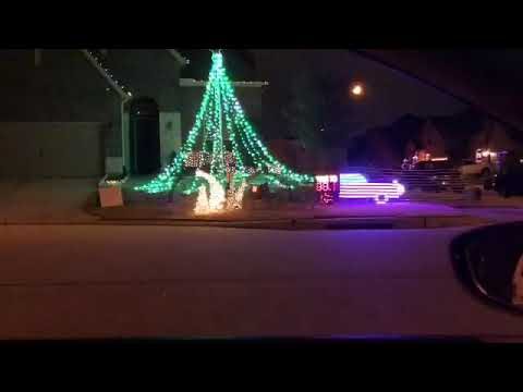 Christmas Lights Mayne   Houston