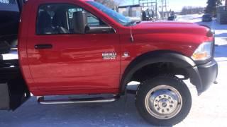 For Sale - 2012 Dodge 4500HD 4x4 Dump Truck