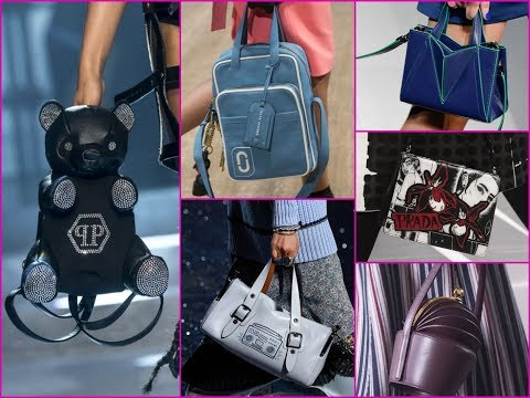 2018 Best Bag and Purse Trends From The Runway