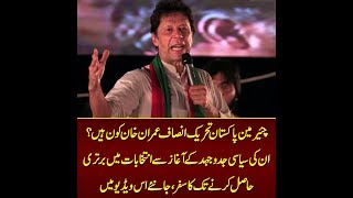 Who is PTI chairman Imran Khan? Know about his political struggle in this video
