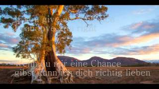 Wait For You - Elliott Yamin (lyrics + German Translation)