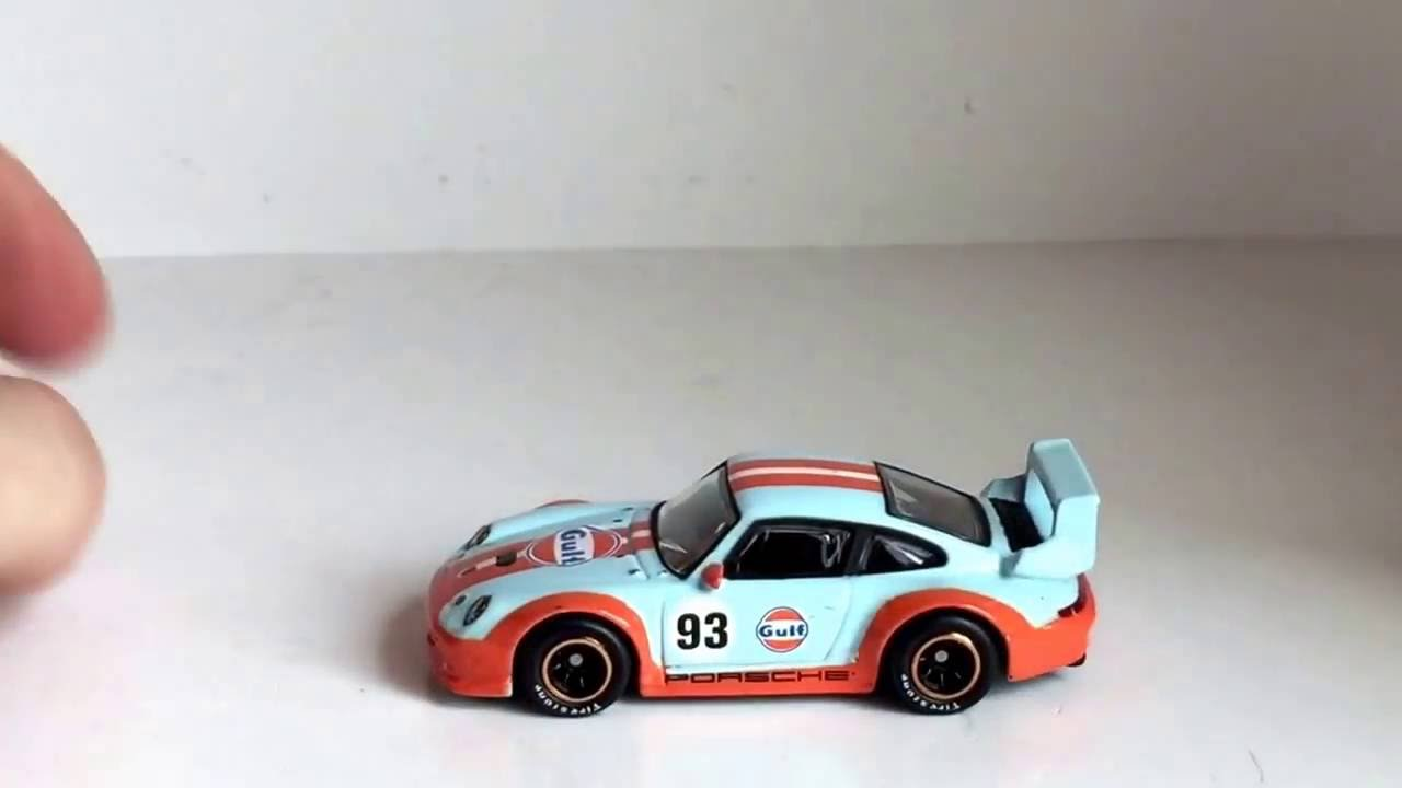hot wheels gulf porsche 993 gt2 youtube. Black Bedroom Furniture Sets. Home Design Ideas