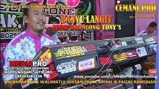 KRONCONG BANYU LANGIT TONY'S ELECTONE | CEMANI SOUND PRO