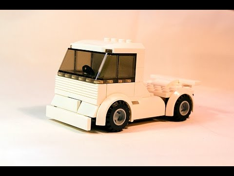 Lego Instructions Lego Racing Truck Moc Tutorial Youtube