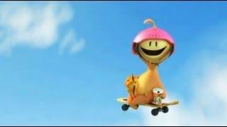 Skate crianças, vídeo engraçado para rir - Glumpers desenhos animados