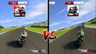 SBK 15 VS SBK 16 Comparison. Which one is best?