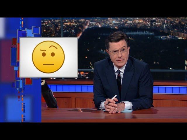 Blackberry Raises Its Eyebrow To Add The Colbert Emoji To Bbm