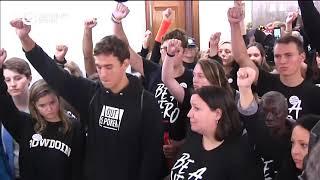 Задержания активистов в Сенате США