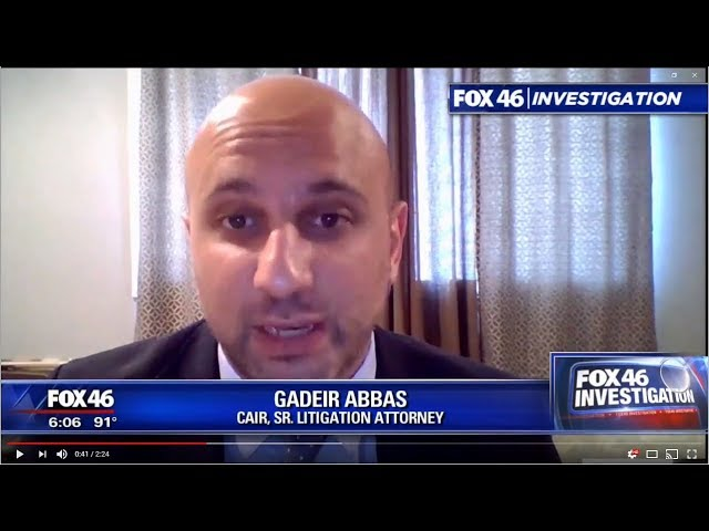 Video: CAIR-FL Seeks Dismissal of TSA Official Who Urged Surveillance of African-American Travelers