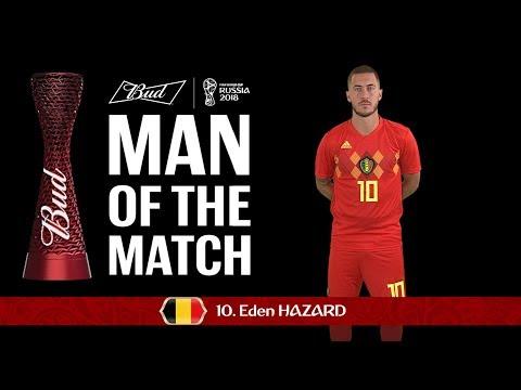 Eden HAZARD (Belgium) - Man of the Match - MATCH 29